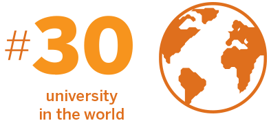 #30 university in the world